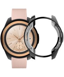 Samsung Galaxy Watch 46MM Hoesje Flexibel TPU Bumper Zwart