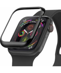 Ringke Apple Watch 4/5 44mm Zwart RVS Randbeschermer