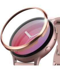 Ringke Samsung Galaxy Watch Active 2 44MM RVS Randbeschermer Rosé Goud