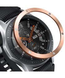 Ringke Galaxy Watch 46MM / Gear S3 RVS Randbeschermer Rosé goud
