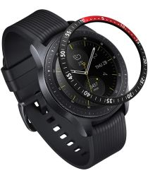 Ringke Galaxy Watch 46MM / Gear S3 Randbeschermer Zwart Rood