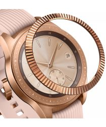 Ringke Bezel Styling Galaxy Watch 42MM Randbeschermer RVS Roze Goud