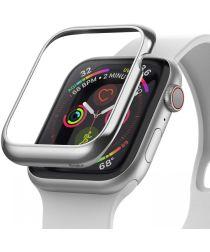 Ringke Bezel Styling Apple Watch 40MM Randbeschermer RVS Zilver