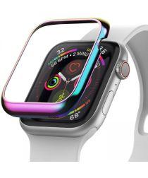 Ringke Bezel Styling Apple Watch 40MM Randbeschermer RVS Neon Chrome