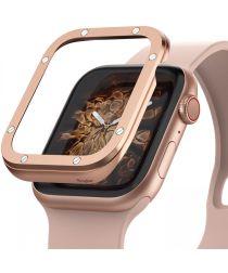 Ringke Bezel Styling Apple Watch 40MM Randbeschermer RVS Roze Goud