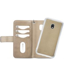 Mobilize Gelly Wallet Zipper Samsung Galaxy J5 (2017) Hoesje Latte