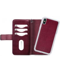 Mobilize Gelly Wallet Zipper Apple iPhone XS / X Hoesje Bordeaux