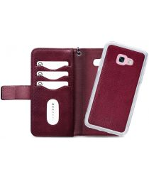 Mobilize Gelly Wallet Zipper Samsung Galaxy A3 (2017) Hoesje Bordeaux