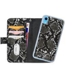 Mobilize Gelly Wallet Zipper Apple iPhone XR Hoesje Black Snake