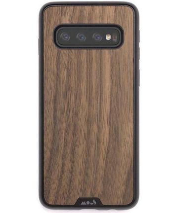 MOUS Limitless 2.0 Samsung Galaxy S10 Hoesje Walnut