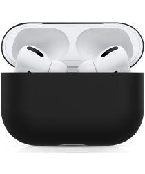 Apple AirPods Pro Ultradun Siliconen Hoesje Zwart