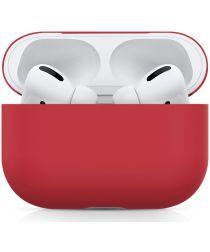 Apple AirPods Pro Ultradun Siliconen Hoesje Rood