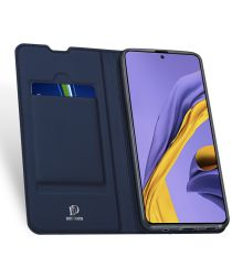 Dux Ducis Skin Pro Series Samsung Galaxy A51 Wallet Hoesje Blauw
