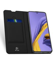 Dux Ducis Skin Pro Series Samsung Galaxy A51 Wallet Hoesje Zwart