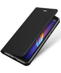 Dux Ducis Skin Pro Series Motorola Moto E6 Play Flip Hoesje Zwart