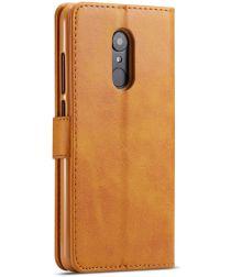 Xiaomi Redmi 8 PU Lederen Portemonnee Bookcase Hoesje Bruin