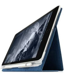 STM Atlas Apple iPad Pro 9.7 / (2017) / (2018) Flip Hoes Blauw
