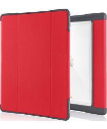 STM Dux Plus Apple iPad Pro 12.9 (2017) Flip Hoes Rood