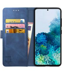 Rosso Element Samsung Galaxy S20 Plus Hoesje Book Cover Blauw