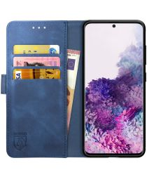 Rosso Element Samsung Galaxy S20 Hoesje Book Cover Blauw
