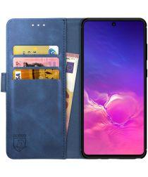 Rosso Element Samsung Galaxy S10 Lite Hoesje Book Cover Blauw