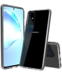 Samsung Galaxy S20 Plus Hoesje Dun TPU Transparant