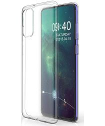 Samsung Galaxy S20 Hoesje Dun TPU Transparant
