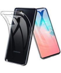 Samsung Galaxy S10 Lite Hoesje Dun TPU Transparant