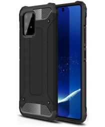 Samsung Galaxy S10 Lite Hoesje Hybride Zwart
