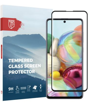 Rosso Samsung Galaxy A71 9H Tempered Glass Screen Protector Screen Protectors