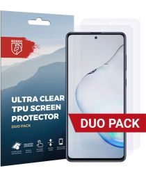 Rosso Samsung Galaxy Note 10 Lite Ultra Clear Screen Protector 2-Pack