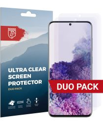 Rosso Samsung Galaxy S20 Clear Screen Protector Duo Pack