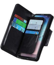 Samsung Galaxy A51 Hoesje Book Case Kaarthouder Wallet Zwart