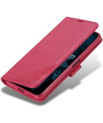 AZNS Huawei Honor 20S / Honor 20/nova 5T Portemonnee Stand Hoes Rood