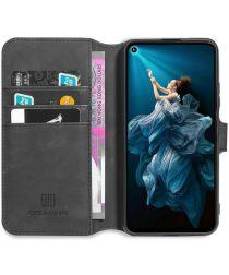 DG Ming Huawei Honor 20S / Honor 20 / Nova 5T Portemonnee Hoesje Zwart