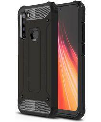 Xiaomi Redmi Note 8 Hybride Armor Hoesje Zwart