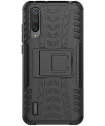 Xiaomi Mi 9 Lite Hoesje Hybride Kickstand Zwart