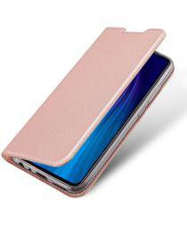 Dux Ducis Xiaomi Redmi Note 8T Bookcase Hoesje Roze Goud