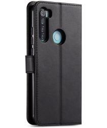 Xiaomi Redmi Note 8T Stand Portemonnee Bookcase Hoesje Zwart