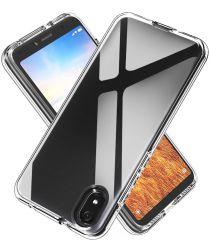 Xiaomi Redmi 7A Hybride Back Cover Transparant