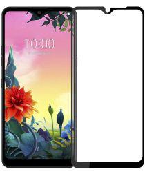 LG K50S Tempered Glass Screen Protector Zwart