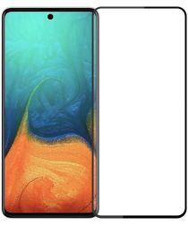 MOFI Samsung Galaxy A71 Screenprotector 2.5D Arc Edge Tempered Glass