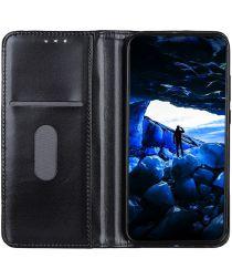 Nokia 2.3 Hoesje Portemonnee Split Leer Zwart