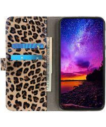 Nokia 2.3 Hoesje Portemonnee met Luipaard Textuur