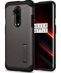 Spigen Slim Armor OnePlus 7T Pro Hoesje Gunmetal