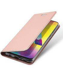 Dux Ducis Samsung Galaxy M20 Bookcase Hoesje Roze Goud