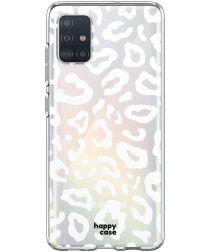 HappyCase Samsung Galaxy A51 Hoesje Flexibel TPU Luipaard Print