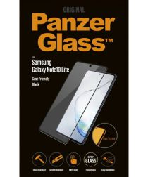 PanzerGlass Galaxy Note 10 Lite Case Friendly Screenprotector Zwart