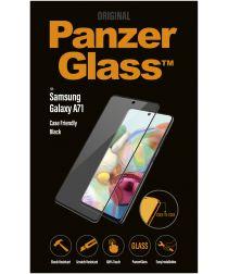 PanzerGlass Samsung Galaxy A71 Case Friendly Screenprotector Zwart
