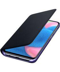 Samsung A30s/A50 Wallet Cover zwart Origineel
